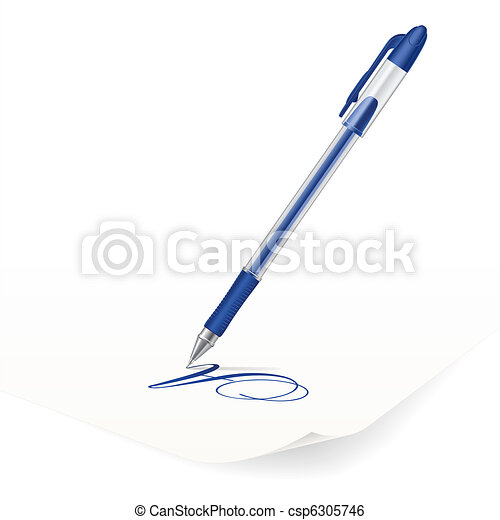 Ballpoint pen - csp6305746