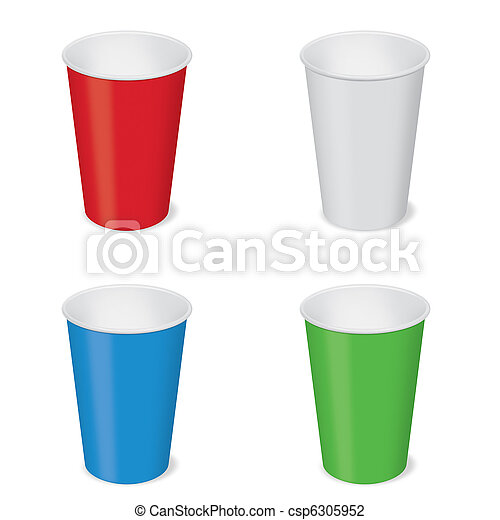 Disposable cups - csp6305952