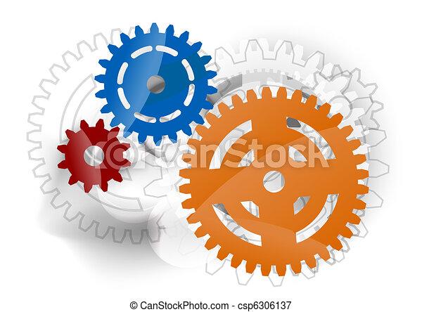 cogwheels - csp6306137