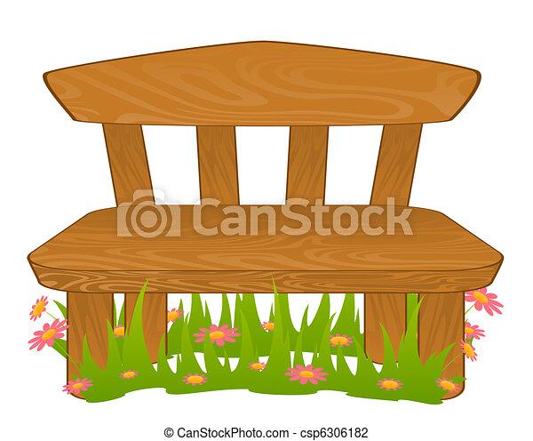 Clip art de caricatura banco csp6306182 buscar clipart - Fotos de bancos para sentarse ...