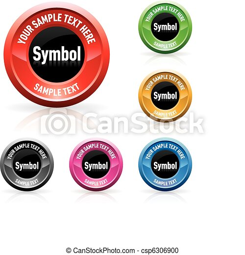 Web buttons - csp6306900