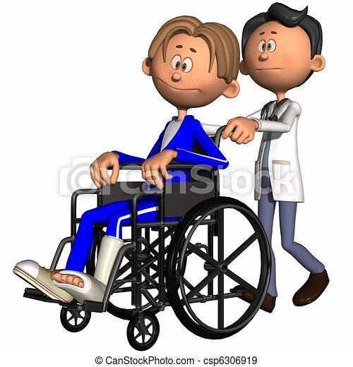 Toon Figure - Medical - csp6306919