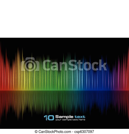 Sound waveform - csp6307097