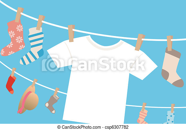 Laundry frame - csp6307782