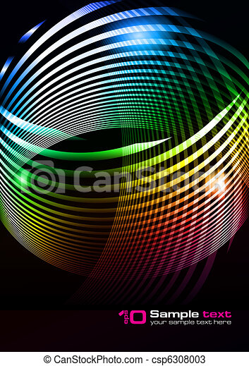 Vector abstract design - csp6308003