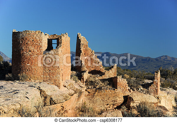Hovenweep National monument - csp6308177