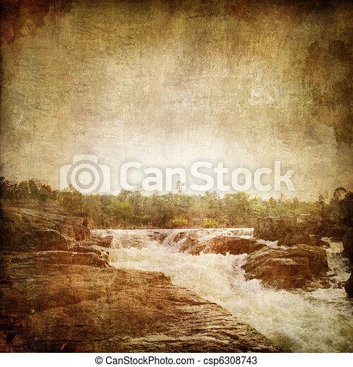 Waterfall - csp6308743