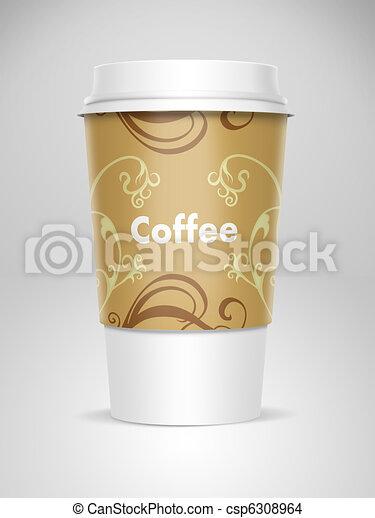 Tasse Cafe A Emporter