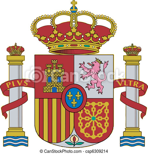 The arms of Spain - csp6309214
