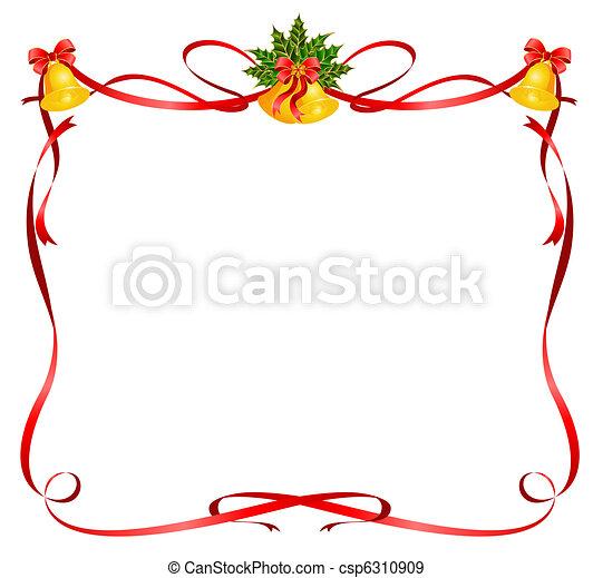 stock illustration von rahmen b nder weihnachten. Black Bedroom Furniture Sets. Home Design Ideas