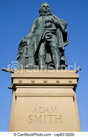Adam Smith Monument, Edinburgh - csp6312200