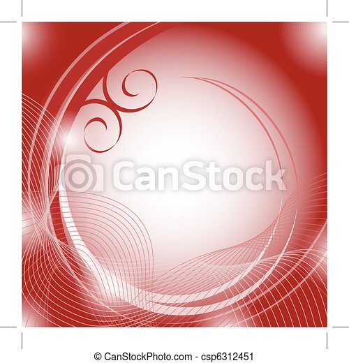 Abstract background red - csp6312451