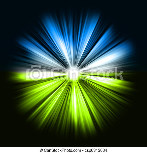 Stock Illustration - Colorful rays of light: shining star - stock ...