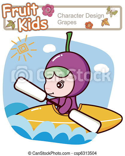 Active Child Canoe - csp6313504