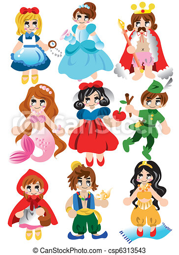 Vectors of cartoon story people icon csp6313543 - Search Clip Art ...