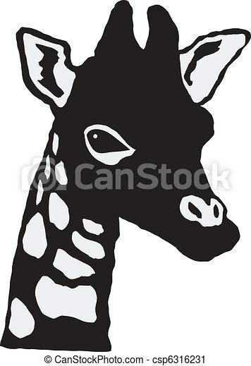 little giraffe - csp6316231