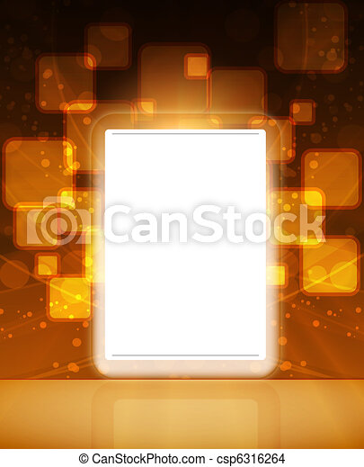 LCD Touch Screen Tablet - csp6316264