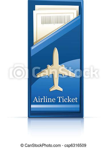 airline ticket - csp6316509