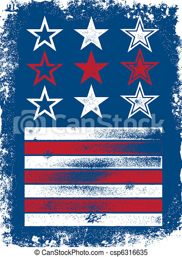 Patriotic Vector Elements - csp6316635