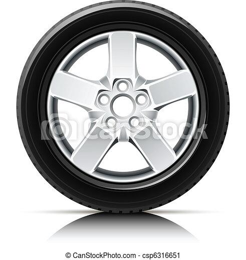 car wheel - csp6316651