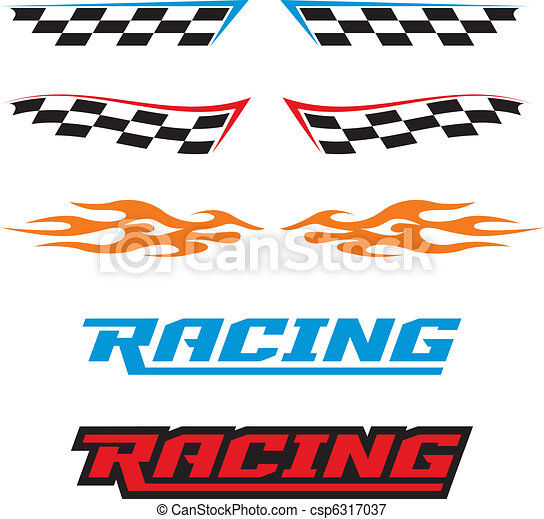 Racing Icons - csp6317037