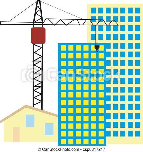 symbol of construction activity - csp6317217