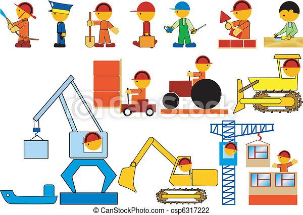 Professions - csp6317222