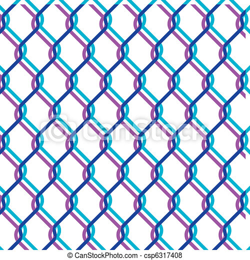 chain link fence - csp6317408