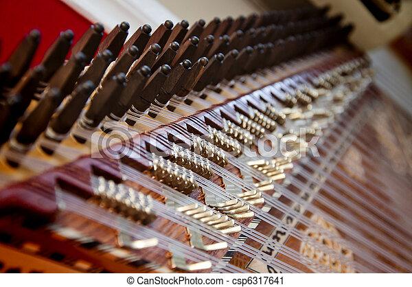 Kanun, a Turkish instrument - csp6317641