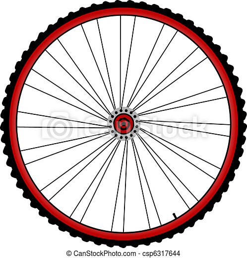 bicycle wheels - csp6317644