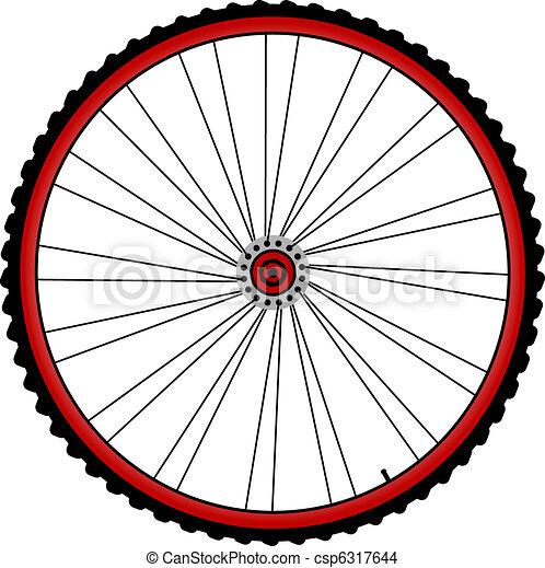 bicycle wheels - csp6317644