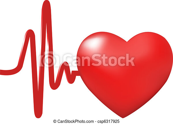 Heart Beats - csp6317925