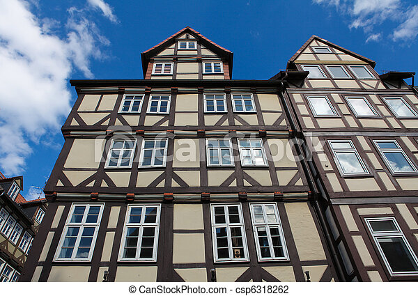Historical architecture in Hannover - csp6318262