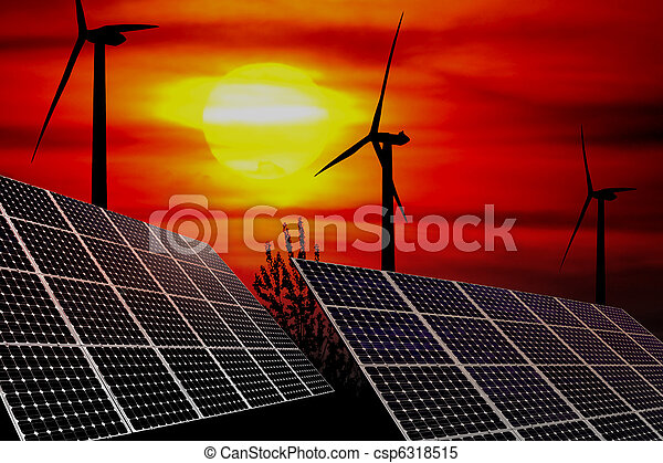 Energie - csp6318515