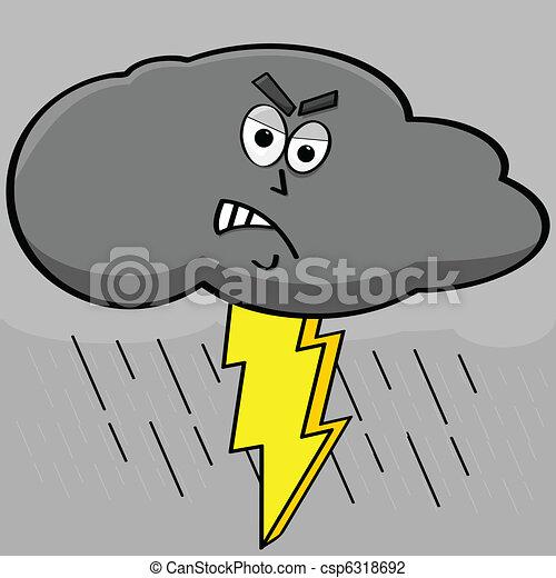 Lightning cloud - csp6318692