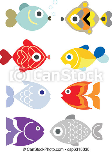 Exotic aquarium fishes - csp6318838