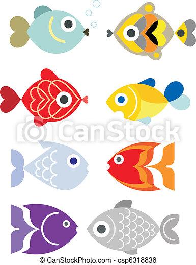 Exotic aquarium fishes - csp6318838