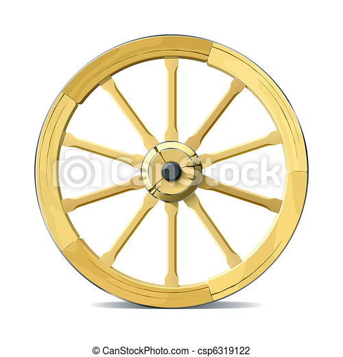 Wagon wheel - csp6319122
