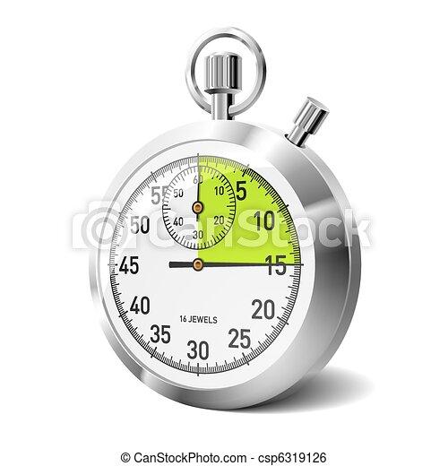 Mechanical stopwatch - csp6319126