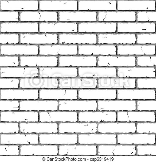 Brick Wall. Seamless texture. - csp6319419