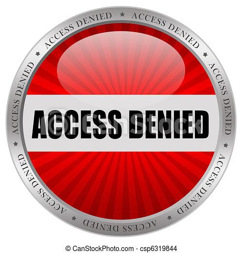 Access denied - csp6319844