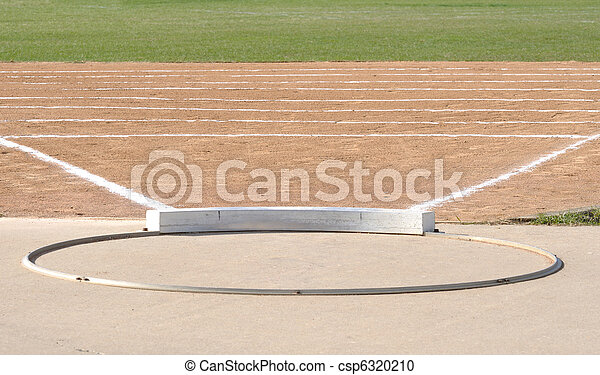 Shot Put Circle and Field - csp6320210