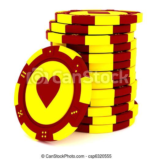 Casino tokens - csp6320555