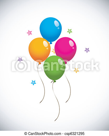 Colorful Balloons - csp6321295