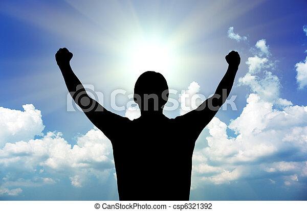 Power of God - csp6321392
