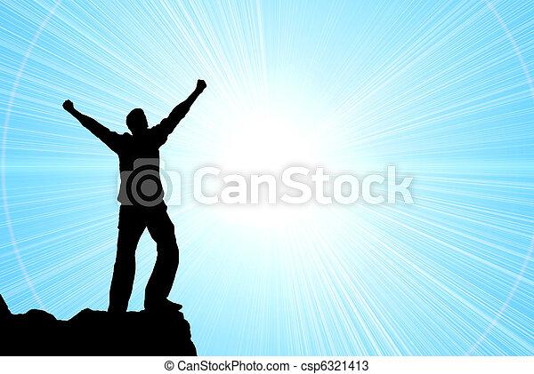 Worship to God - csp6321413
