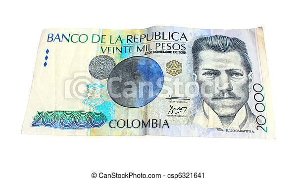 Colombian note - csp6321641
