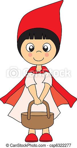 Little Red Riding Hood - csp6322277