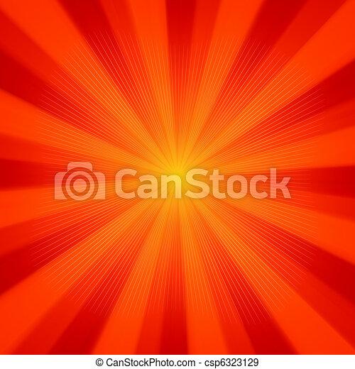 Sun light background. EPS 8 - csp6323129