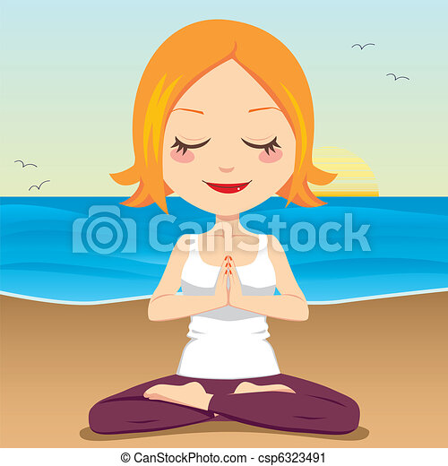 Ocean Meditation - csp6323491